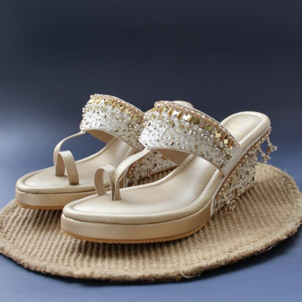 Lustre Gold Wedge