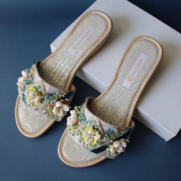 Multi Embellished Margaret Sandals